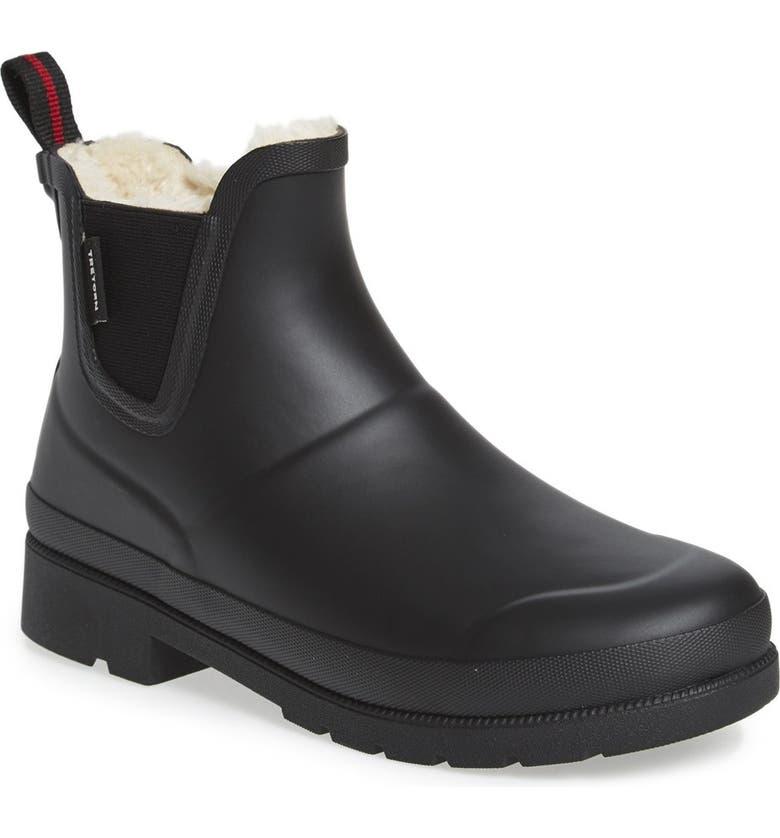 TRETORN Chelsea Rain Boot, Main, color, BLACK