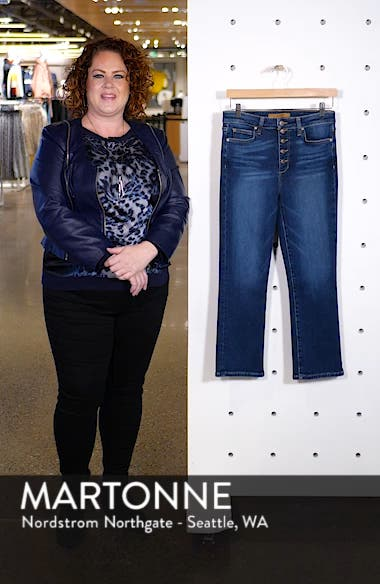 The Callie Crop Bootcut Jeans, sales video thumbnail
