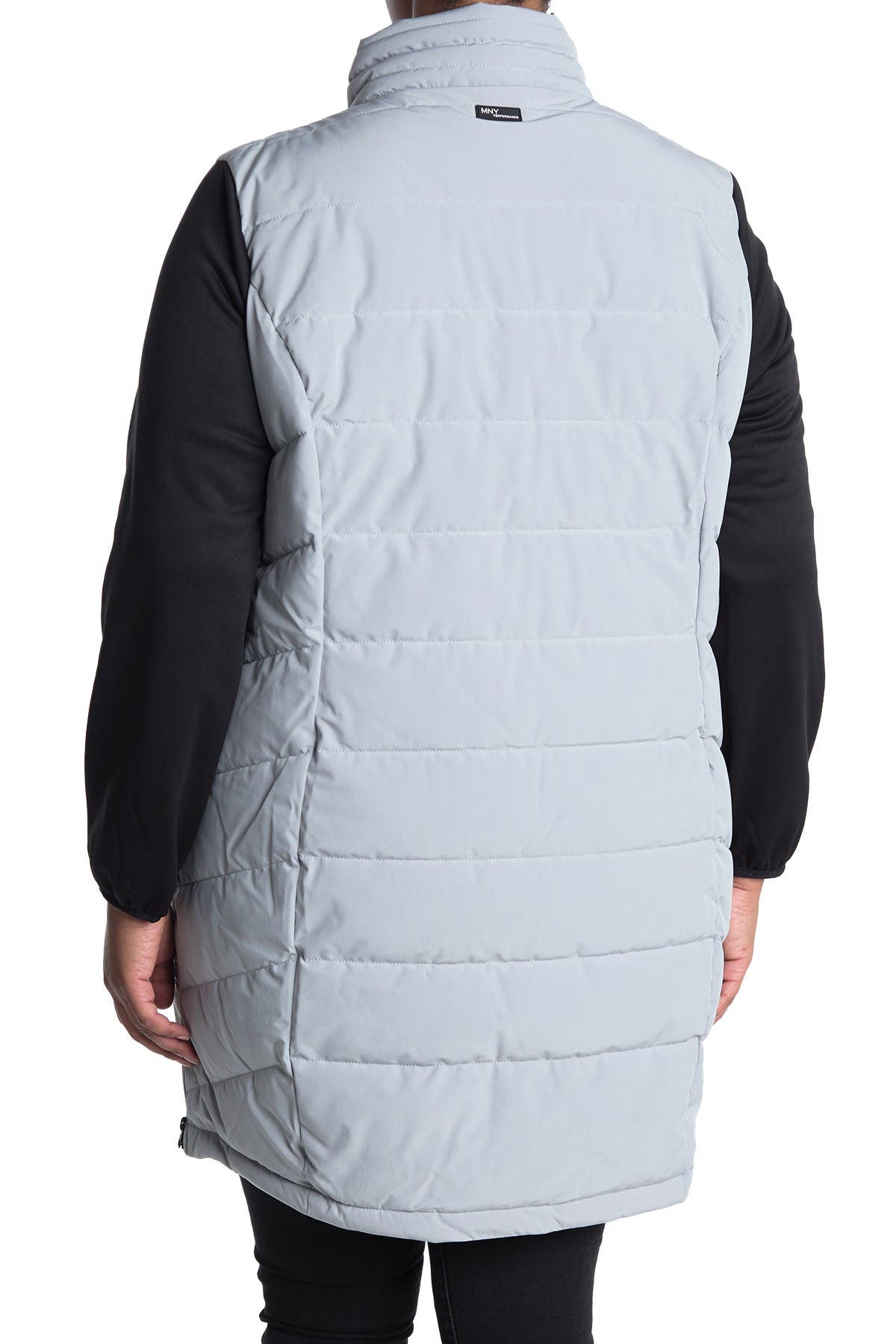 Image of MARC NEW YORK PERFORMANCE Standing Collar Long Puffer Coat