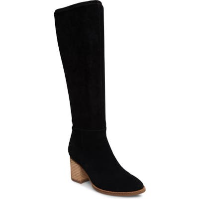 Blondo Nada Waterproof Knee High Boot, Black