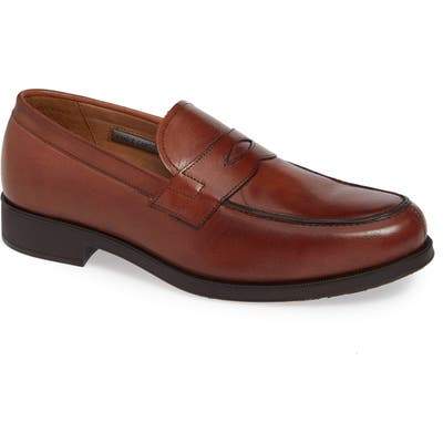 Vince Camuto Nait Penny Loafer- Brown