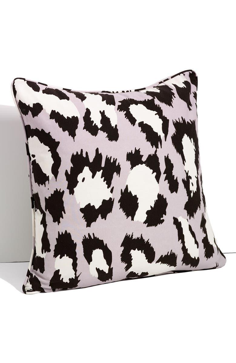 DIANE VON FURSTENBERG 'Spotted Cat' Pillow, Main, color, 500