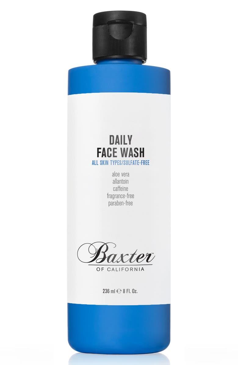 BAXTER OF CALIFORNIA Daily Face Wash, Main, color, NO COLOR