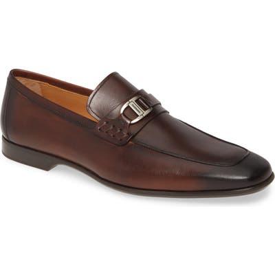 Magnanni Raro Bit Loafer, Brown