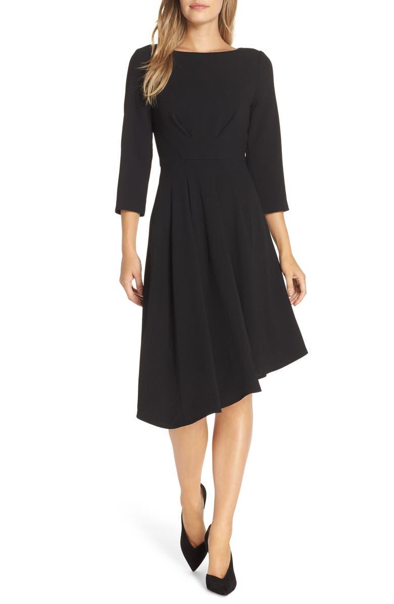 HARPER ROSE Asymmetrical Dress, Main, color, 001