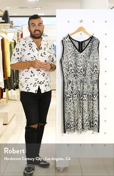 Leopard Print Sweater Dress, sales video thumbnail