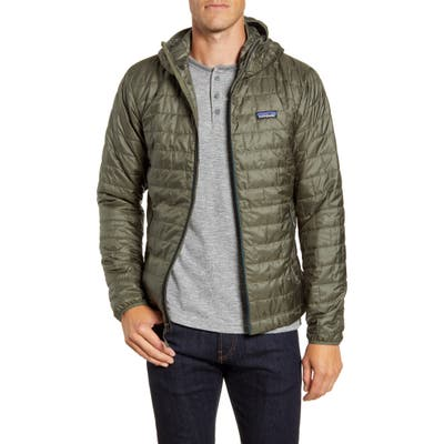 Patagonia Nano Puff Hooded Jacket, Green