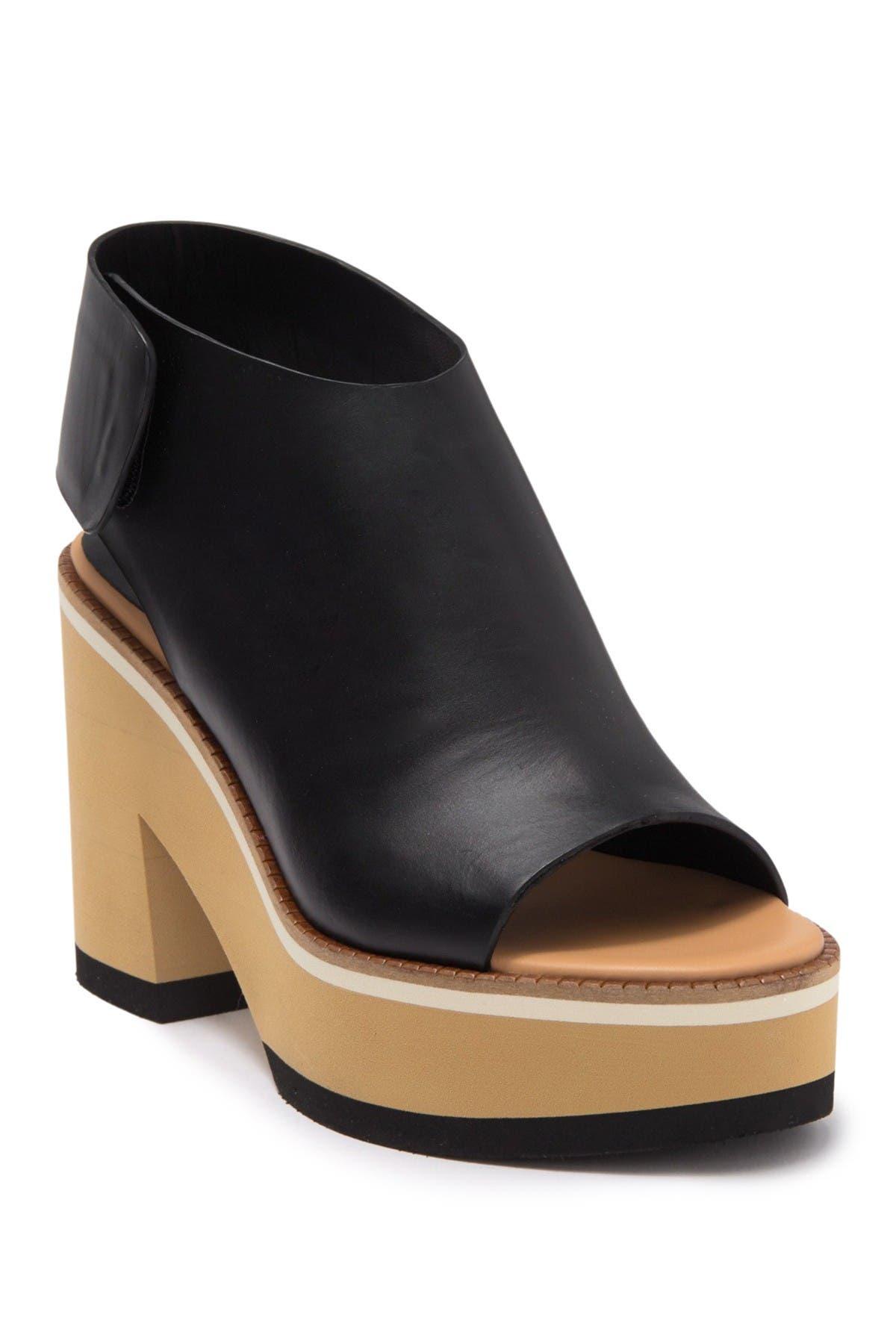 Image of Paloma Barcelo Ellen Block Heel Platform Sandal