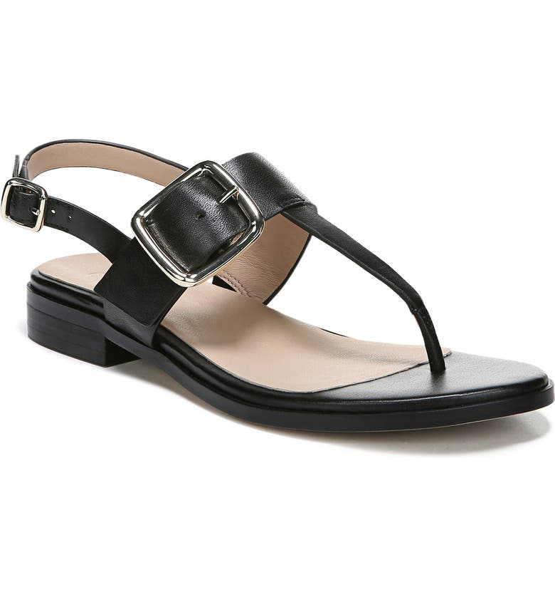 27 EDIT Erika Sandal, Main, color, BLACK LEATHER