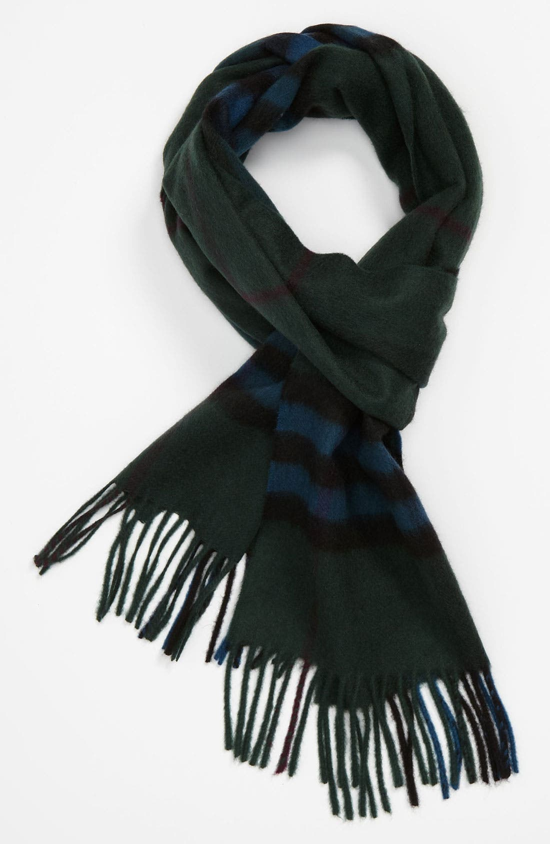 ,                             Heritage Check Cashmere Scarf,                             Main thumbnail 26, color,                             362
