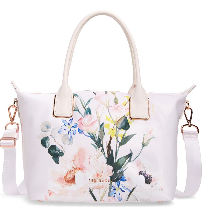 TED BAKER LONDON Eedie Elegant Nylon Tote, Main, color, 650