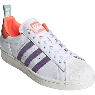 Adidas X Girls Are Awesome Energy Superstar Plateau Sneaker, / 6 Men