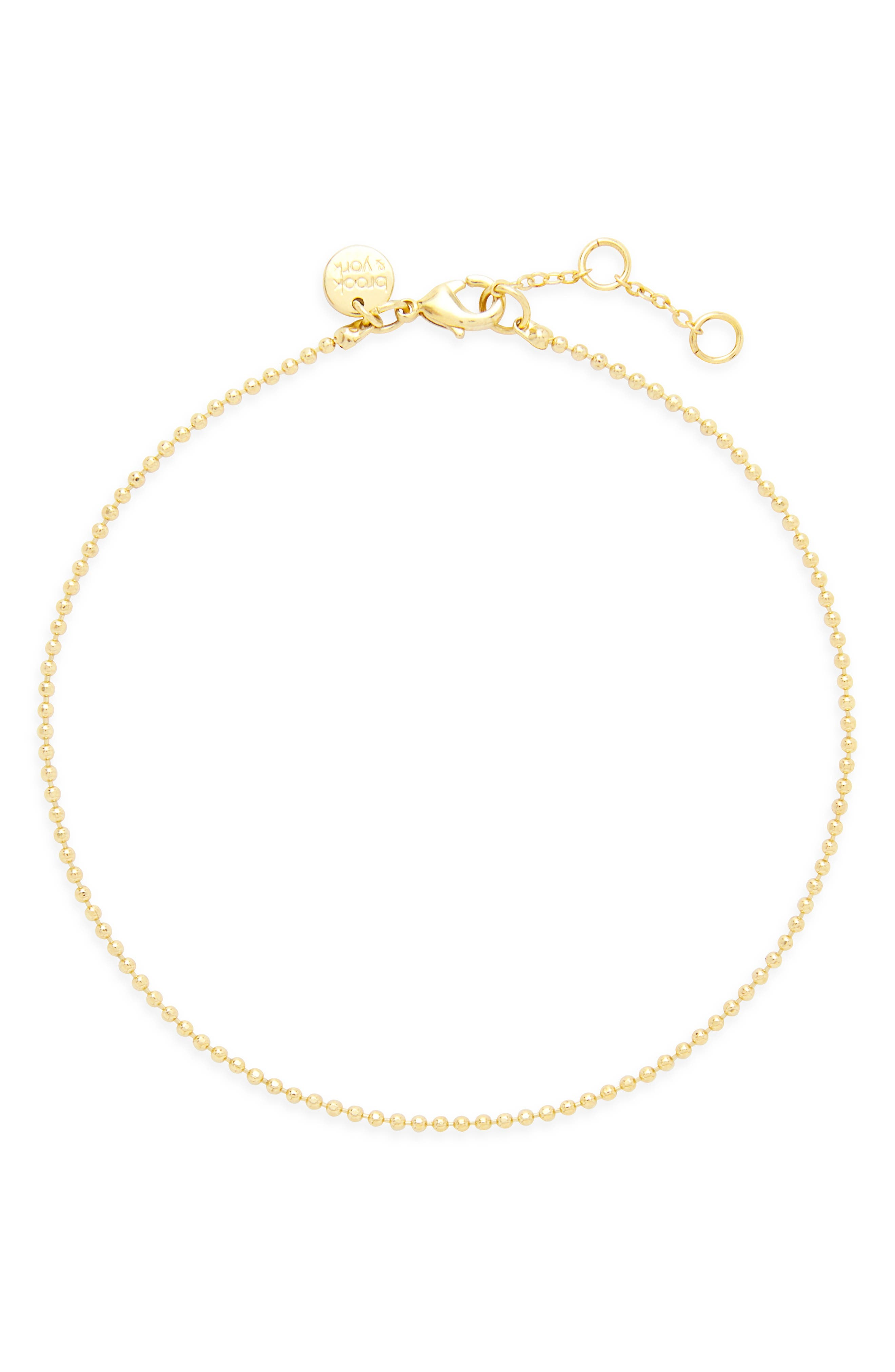 Mae Bead Chain Anklet
