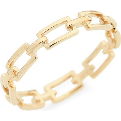 Bony Levy 14-Karat Gold Link Stacking Ring (Nordstrom Exclusive)