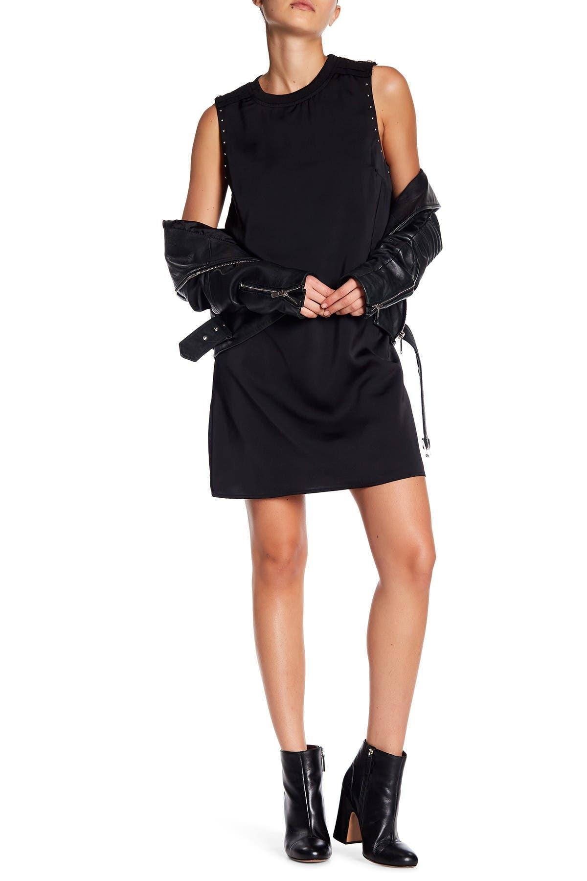 Image of Sugarlips Izabel Satin Shift Dress