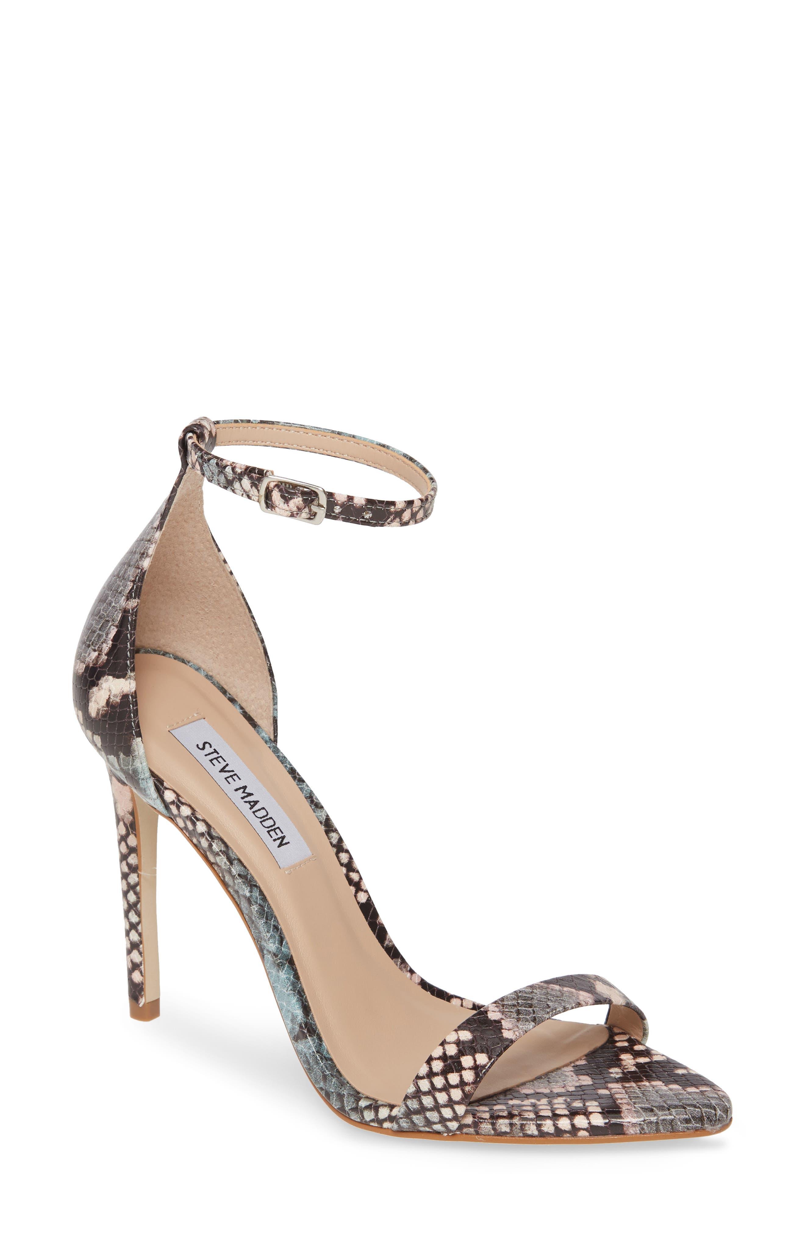 Steve Madden Sane Ankle Strap Sandal (Women)