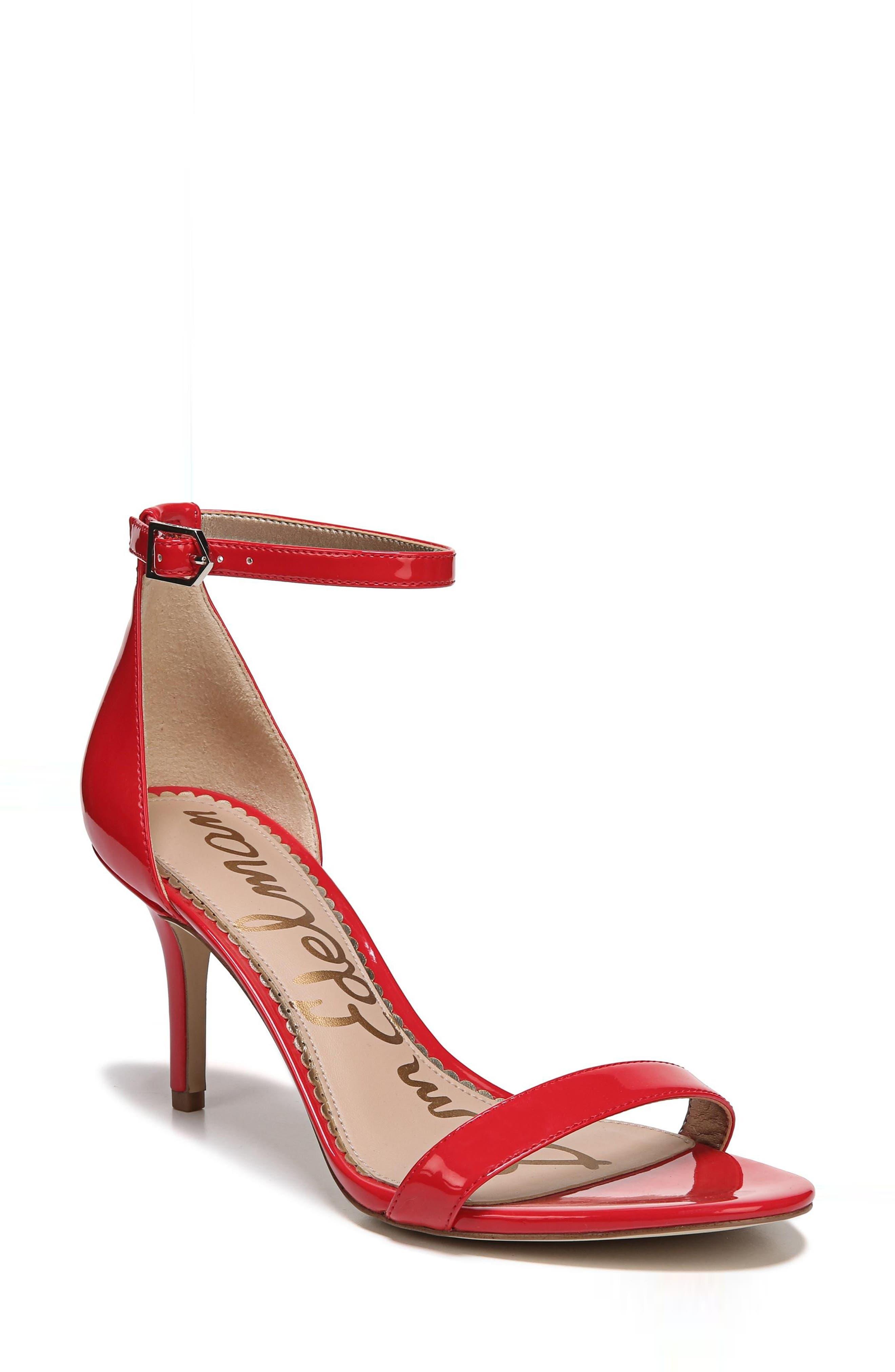 ,                             'Patti' Ankle Strap Sandal,                             Main thumbnail 114, color,                             606