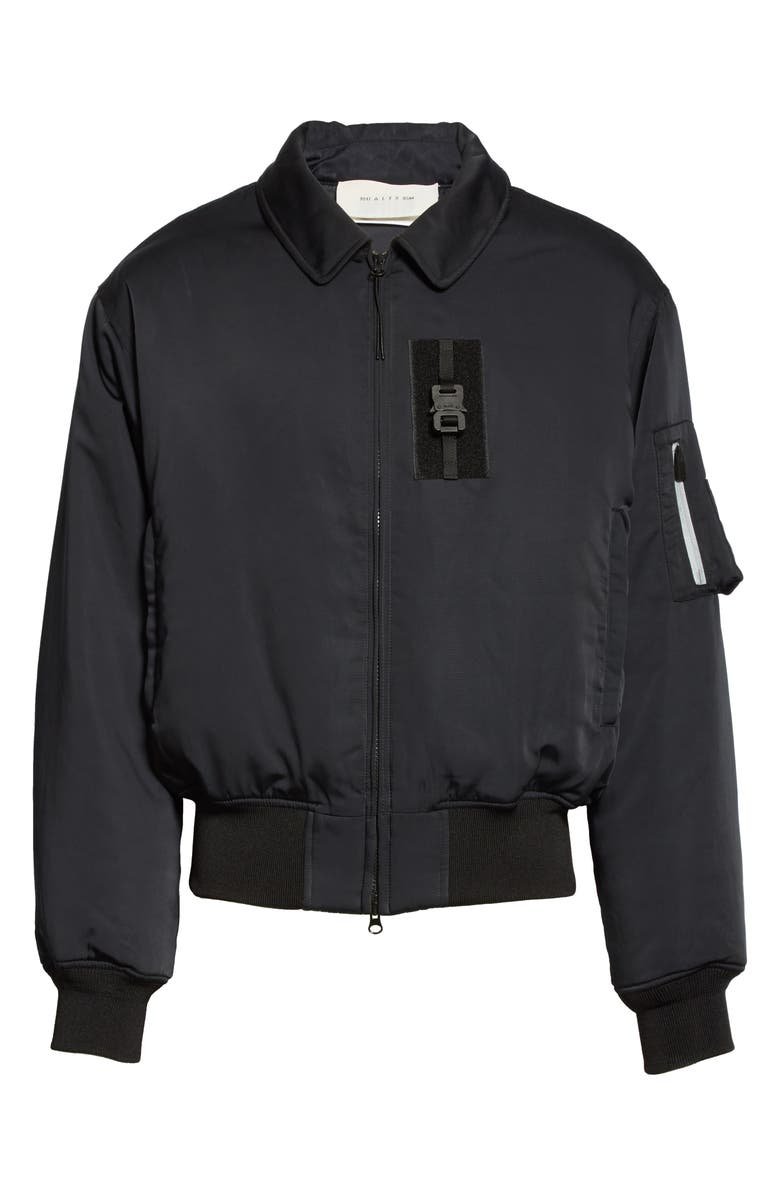 1017 ALYX 9SM Bomber Jacket, Main, color, BLACK