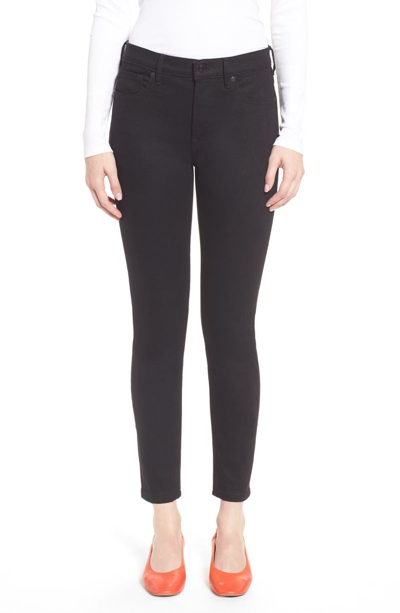 EVERLANE The Mid Rise Skinny Jeans, Main, color, 001