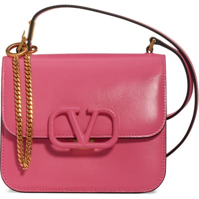 Valentino Garavani Small Vsling Shoulder Bag - Pink