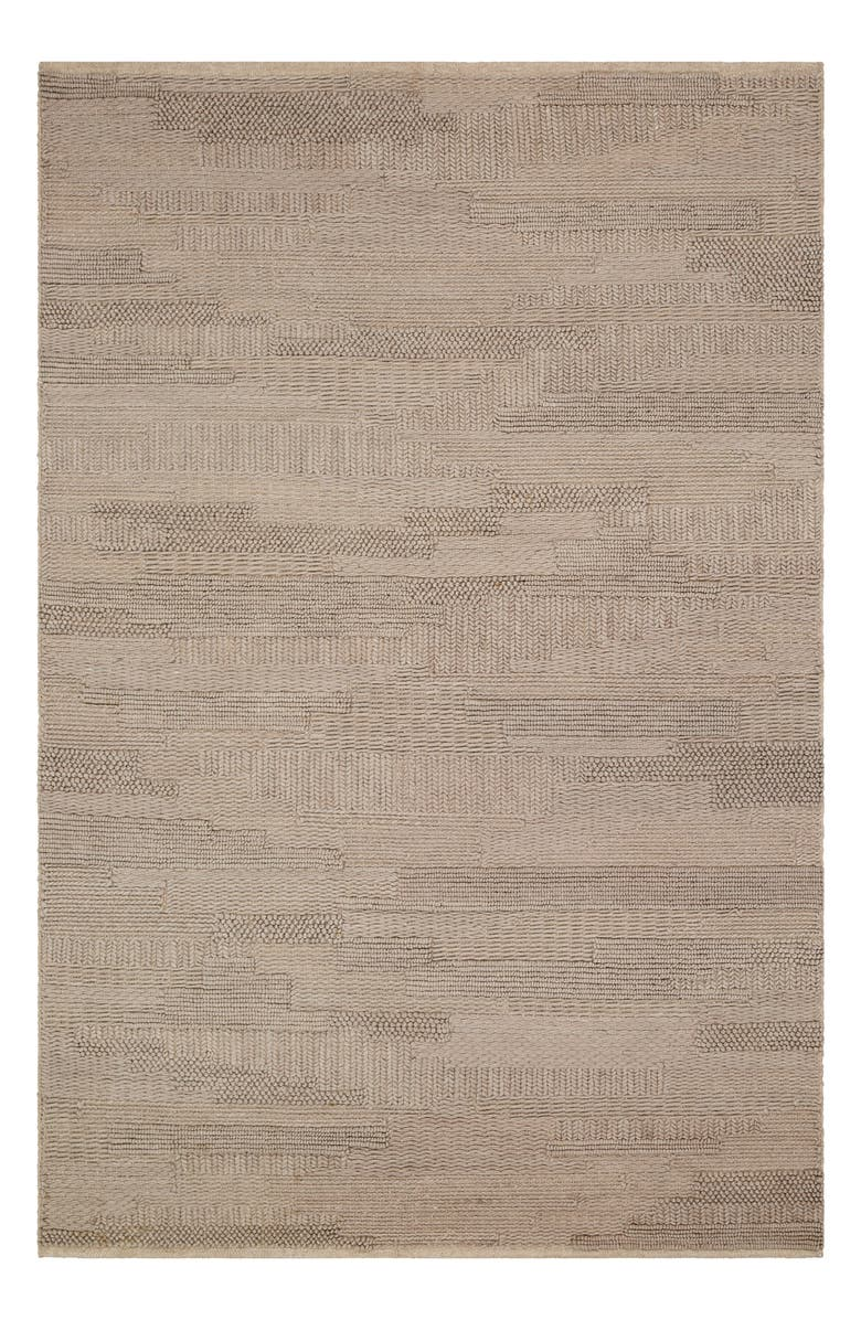 SURYA HOME Cocoon Hand Loomed Area Rug, Main, color, TAUPE