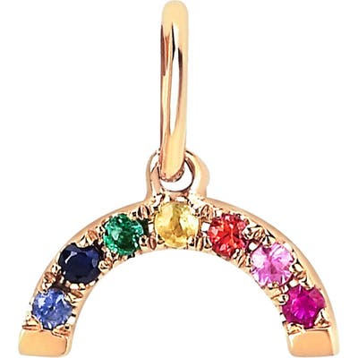 Ef Collection Rainbow Pendant Charm