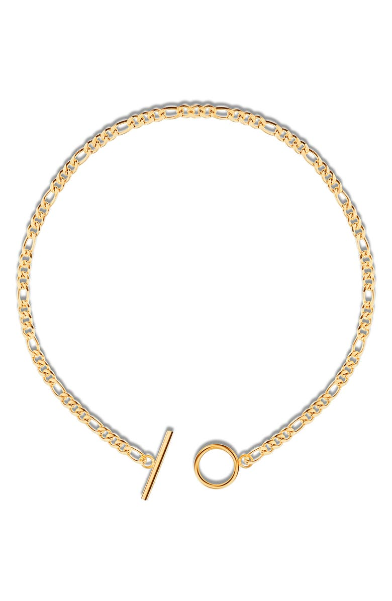 ELLIE VAIL Keira Choker Necklace, Main, color, GOLD