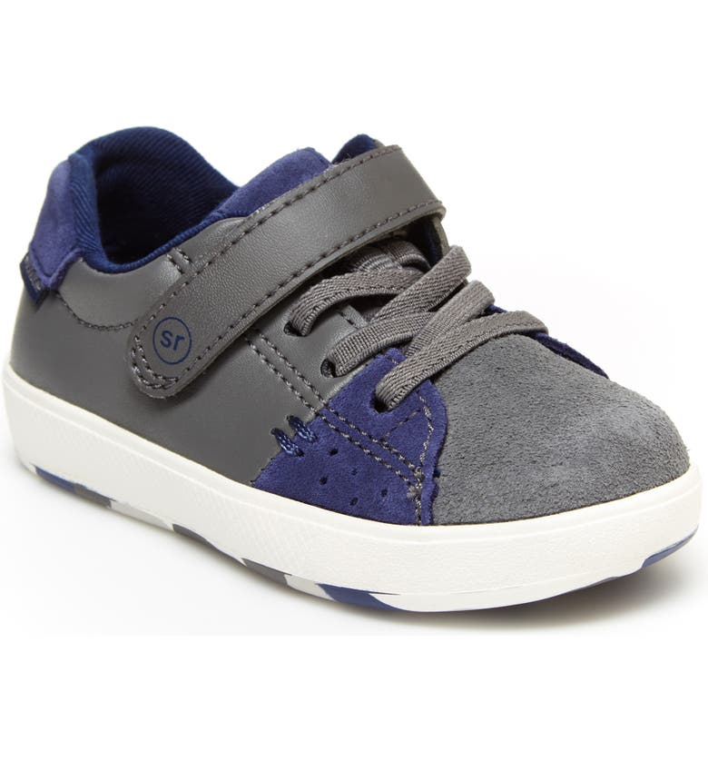 STRIDE RITE Made 2 Play<sup>®</sup> Maci Sneaker, Main, color, GREY/ NAVY