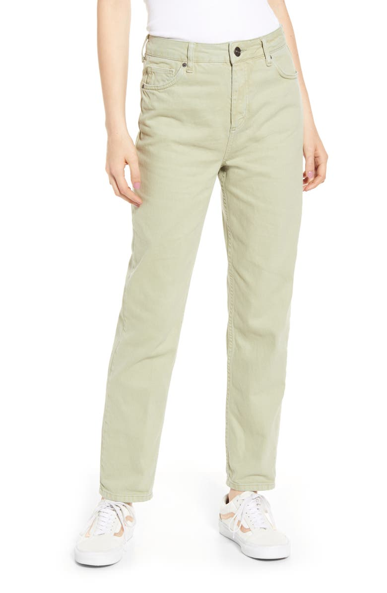 BDG Urban Outfitters High Waist Mom Jeans, Main, color, SEAFOAM