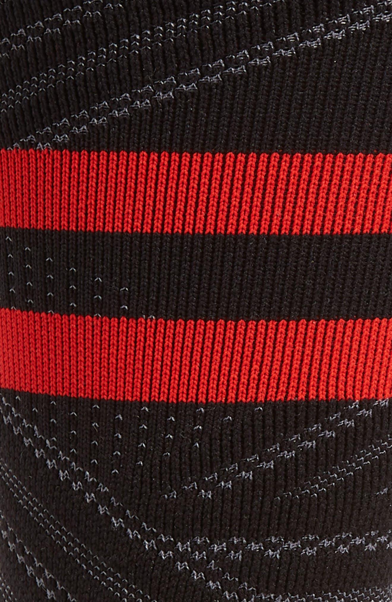 ,                             Uncommon Train Crew Socks,                             Alternate thumbnail 2, color,                             BLACK