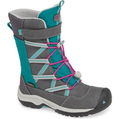 Toddler Keen Hoodoo Waterproof Insulated Boot, Grey