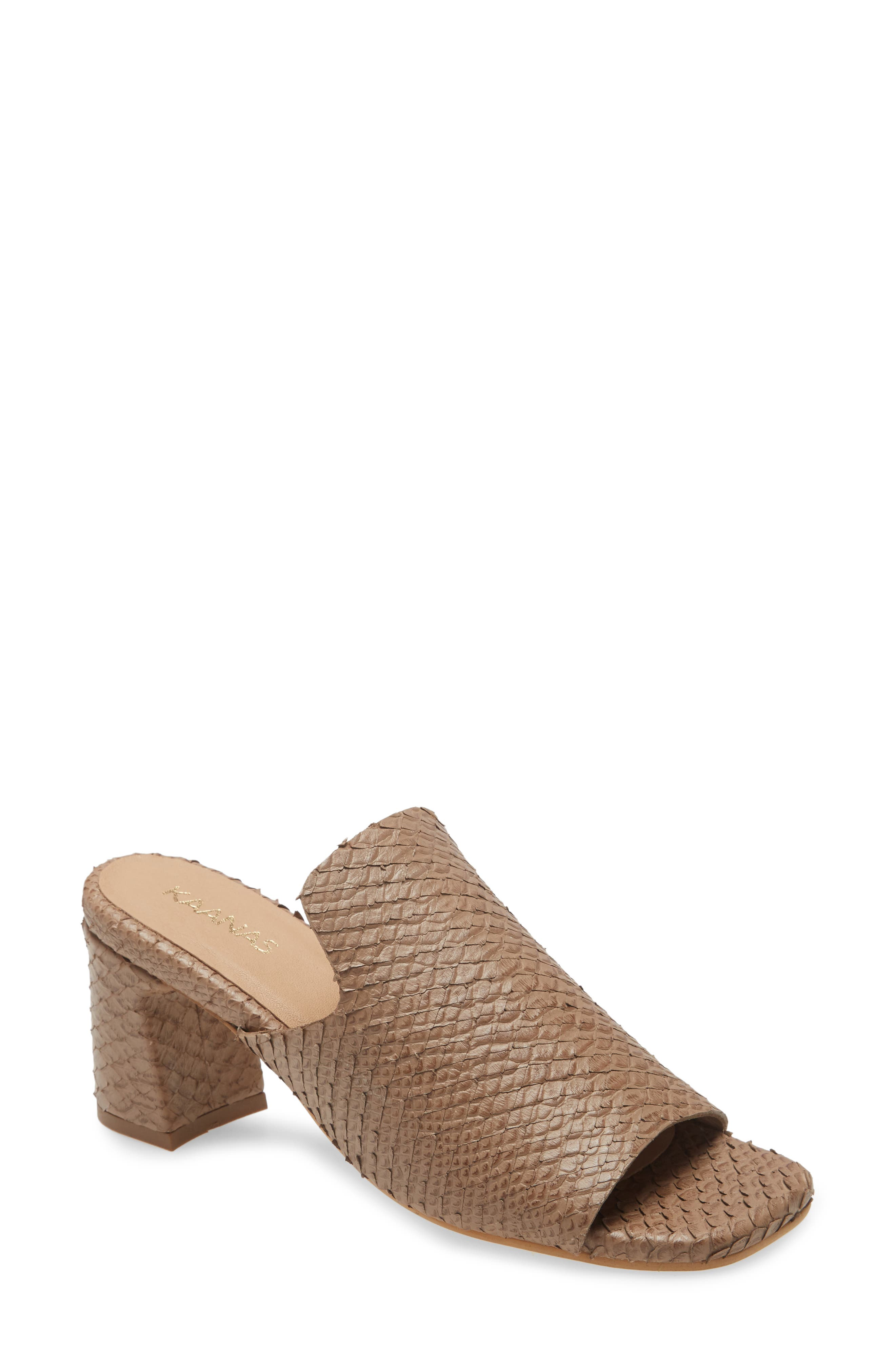 Moscow Block Heel Sandal