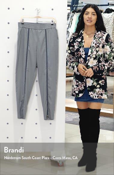 Zip Front Wool Pants, sales video thumbnail