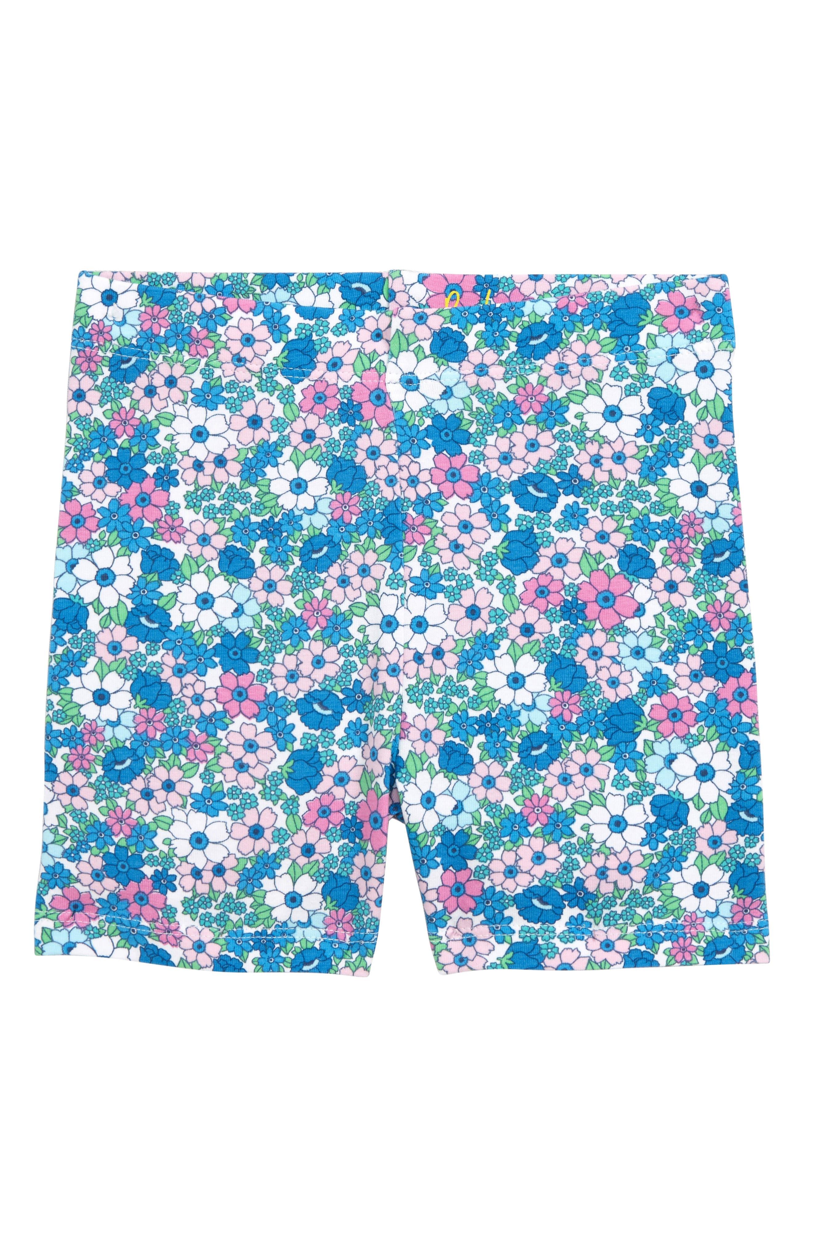 Girls Mini Boden Fun Jersey Shorts Size 1112Y  Blue