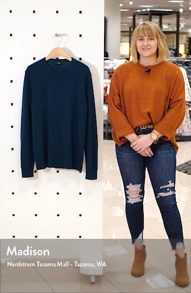Hilles Slim Fit Crewneck Cashmere Sweater, sales video thumbnail