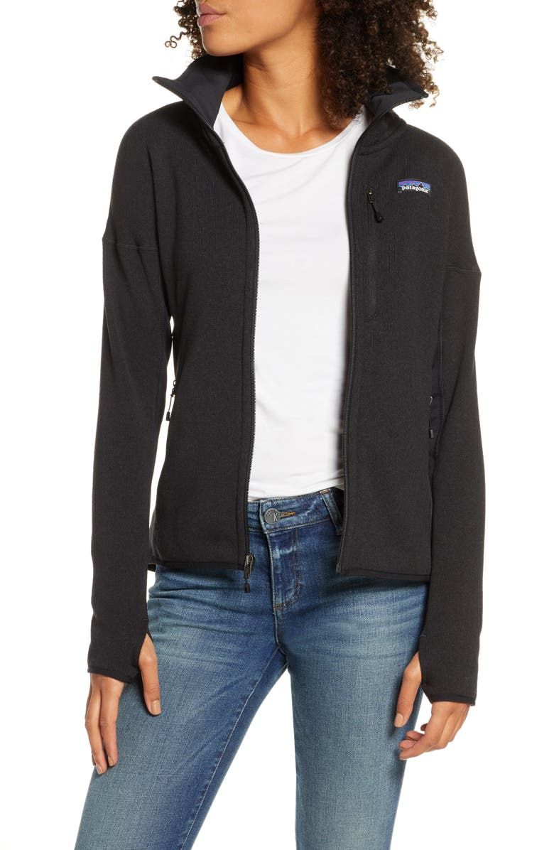 PATAGONIA Better Sweater<sup>®</sup> Performance Jacket, Main, color, 001