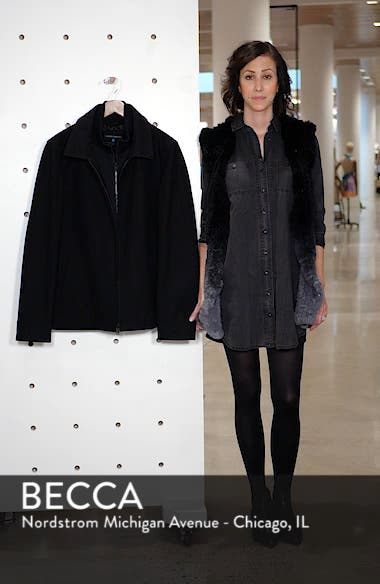 Layered Wool Blend Coat, sales video thumbnail