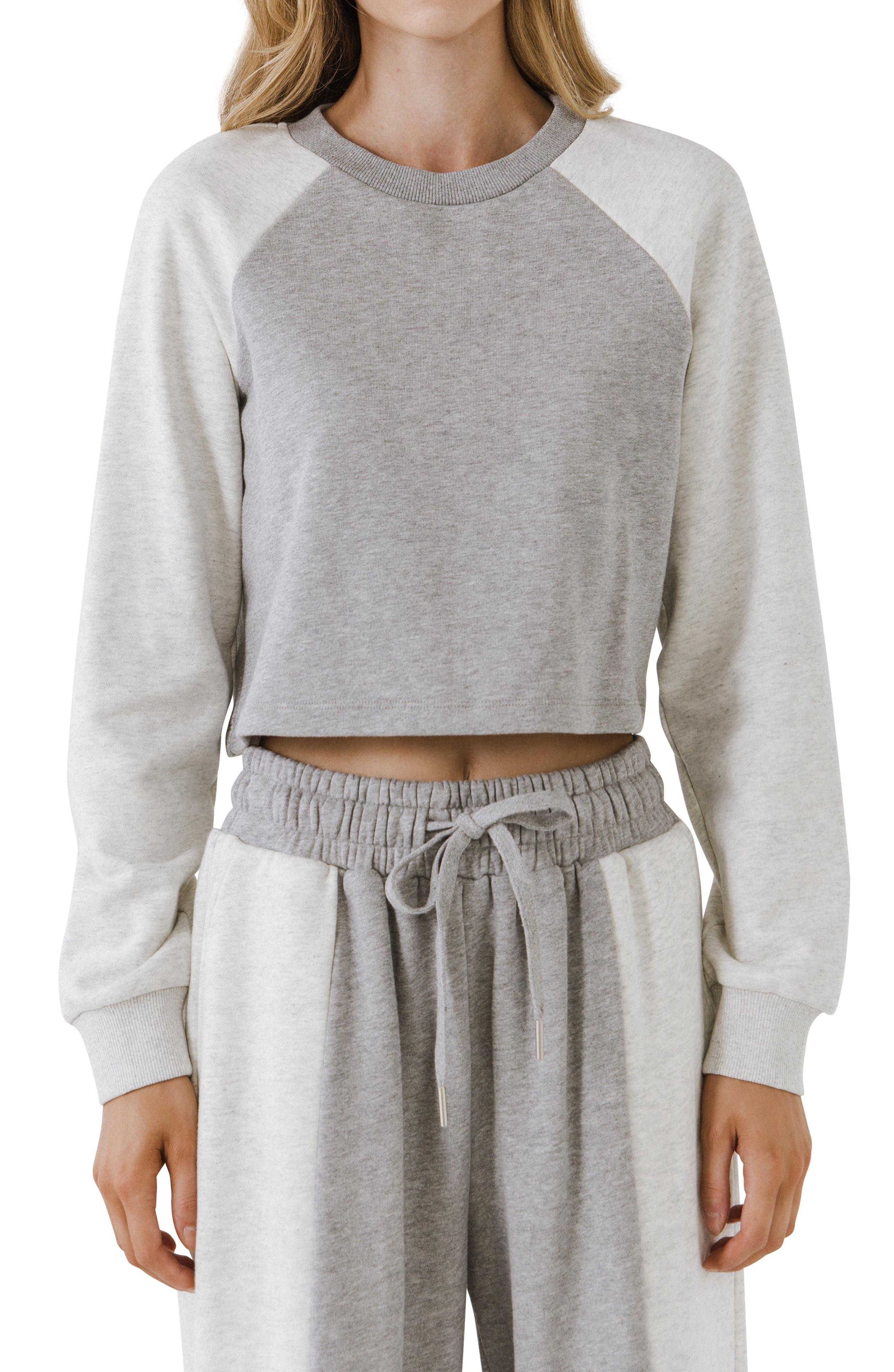 Colorblock Loungewear Top