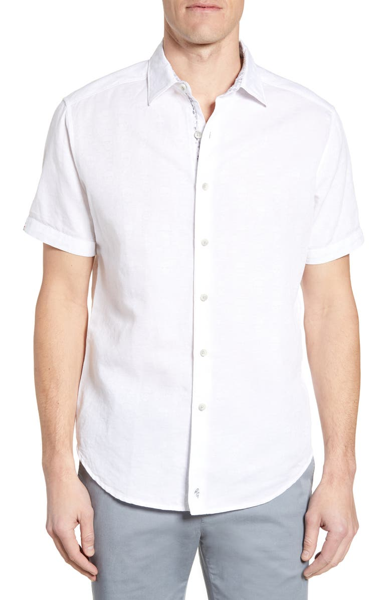 Robert Graham Temple Of Skull Classic Fit Shirt