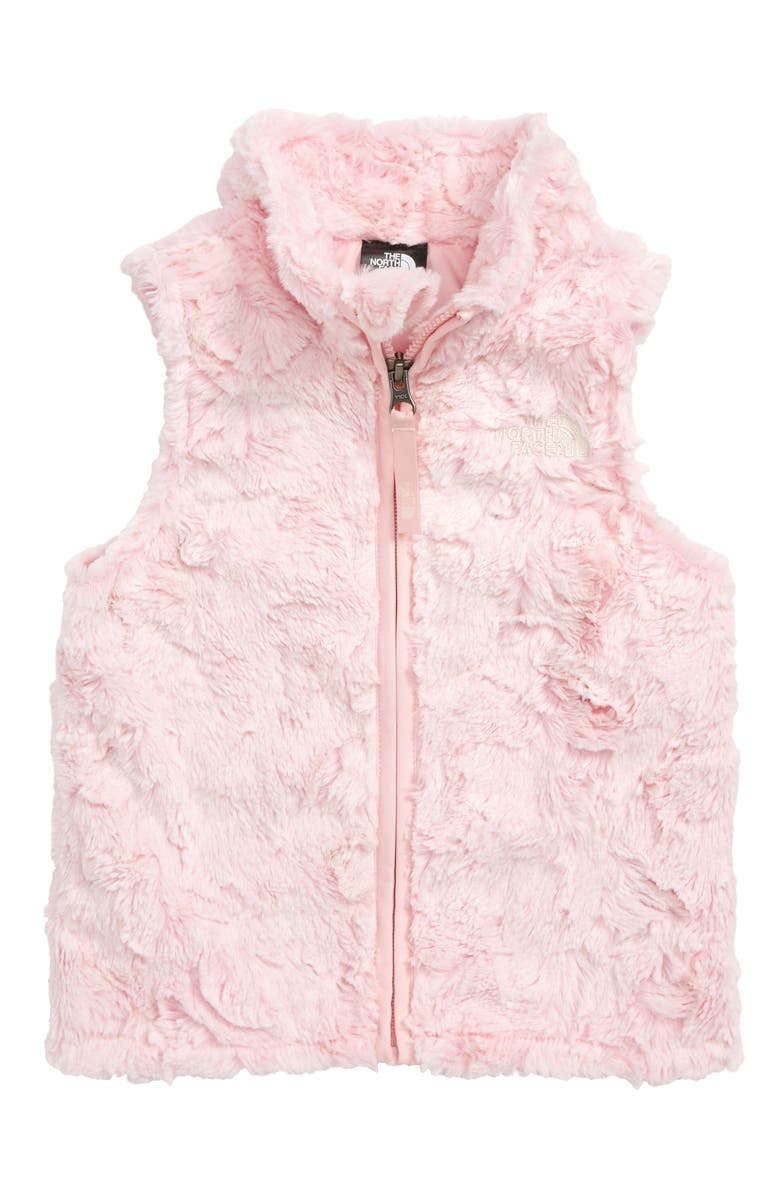 THE NORTH FACE Cozy Swirl Vest, Main, color, PURDY PINK