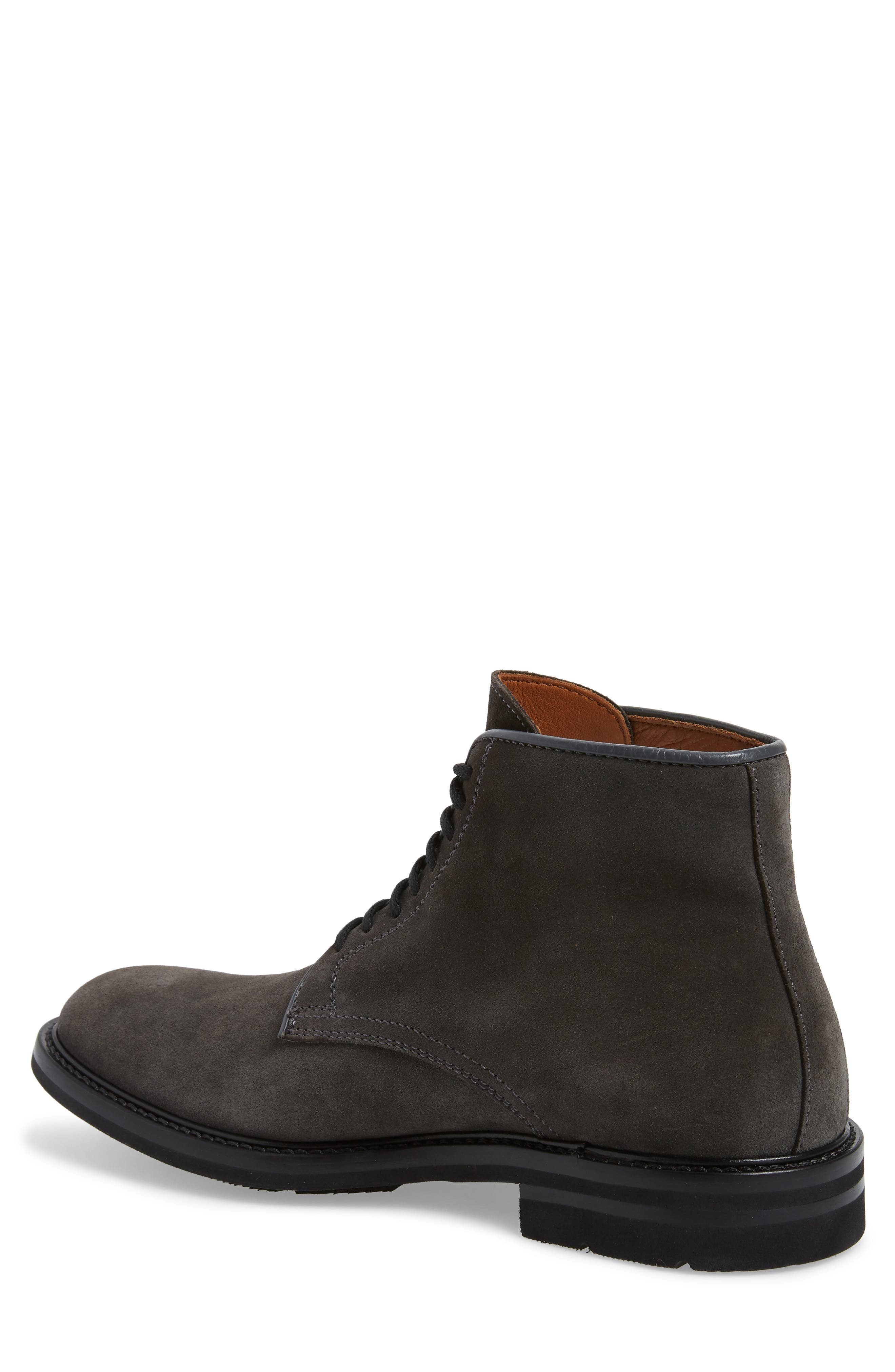 ,                             Renzo Weatherproof Lace-Up Boot,                             Alternate thumbnail 2, color,                             DARK CHARCOAL