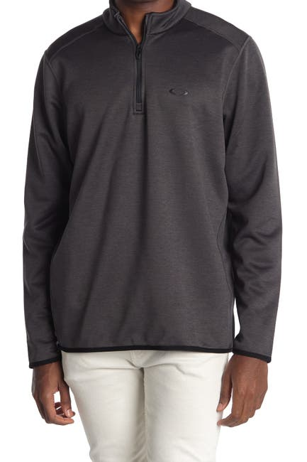 Image of Oakley Midweight Golf 1/4 Zip Pullover