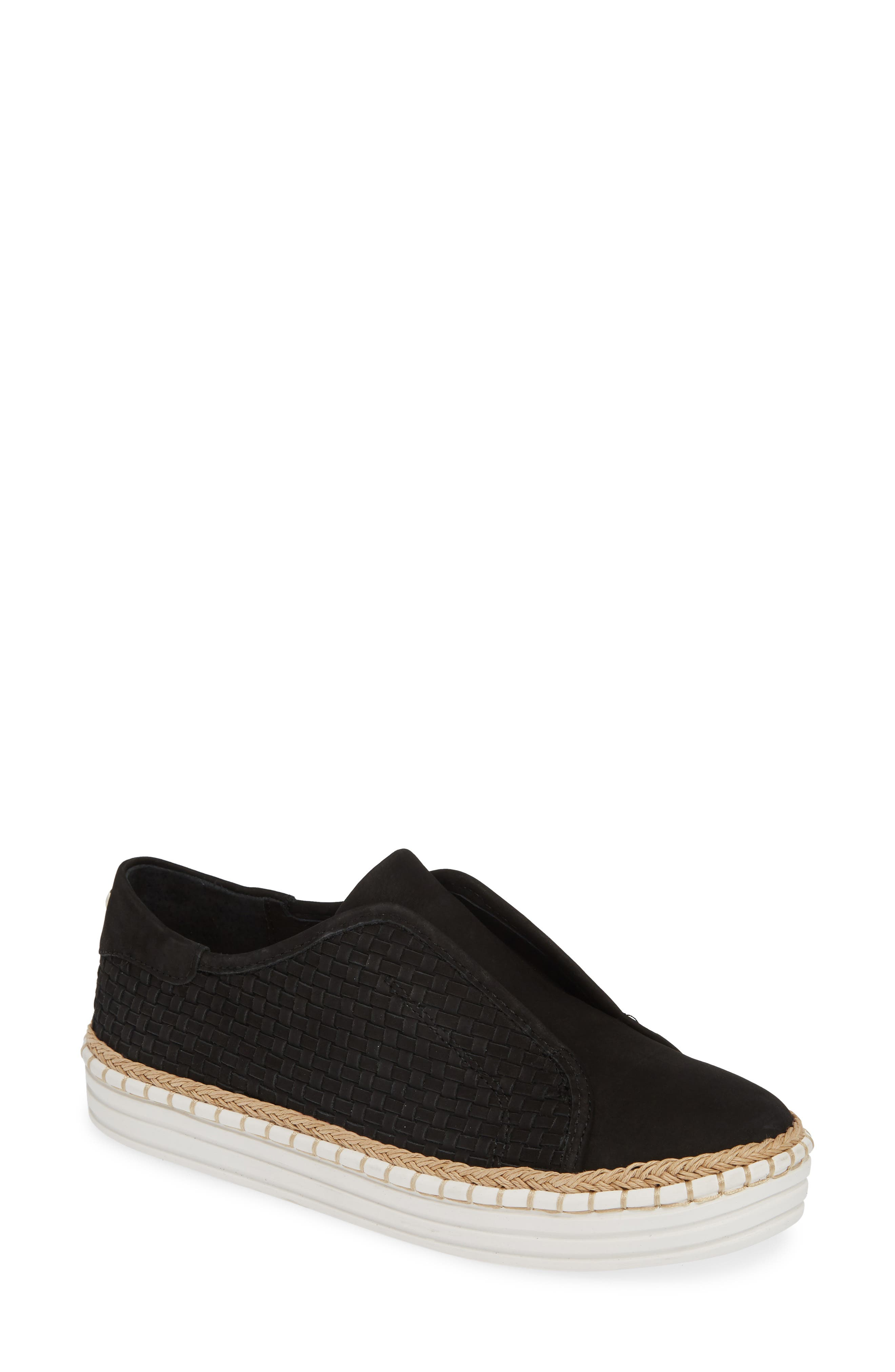 Jslides Kayla Slip-On Sneaker, Black