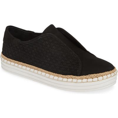 Jslides Kayla Slip-On Sneaker, Black