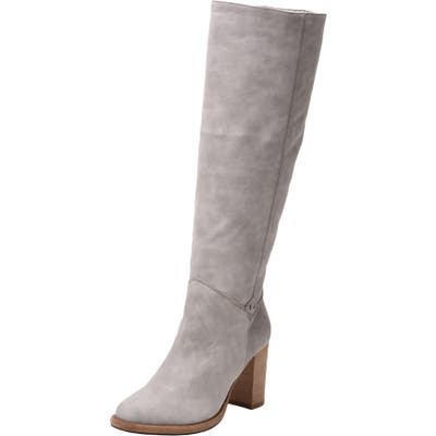 Ross & Snow Michela Sp Weatherproof Genuine Shearling Lined Boot, Ivory
