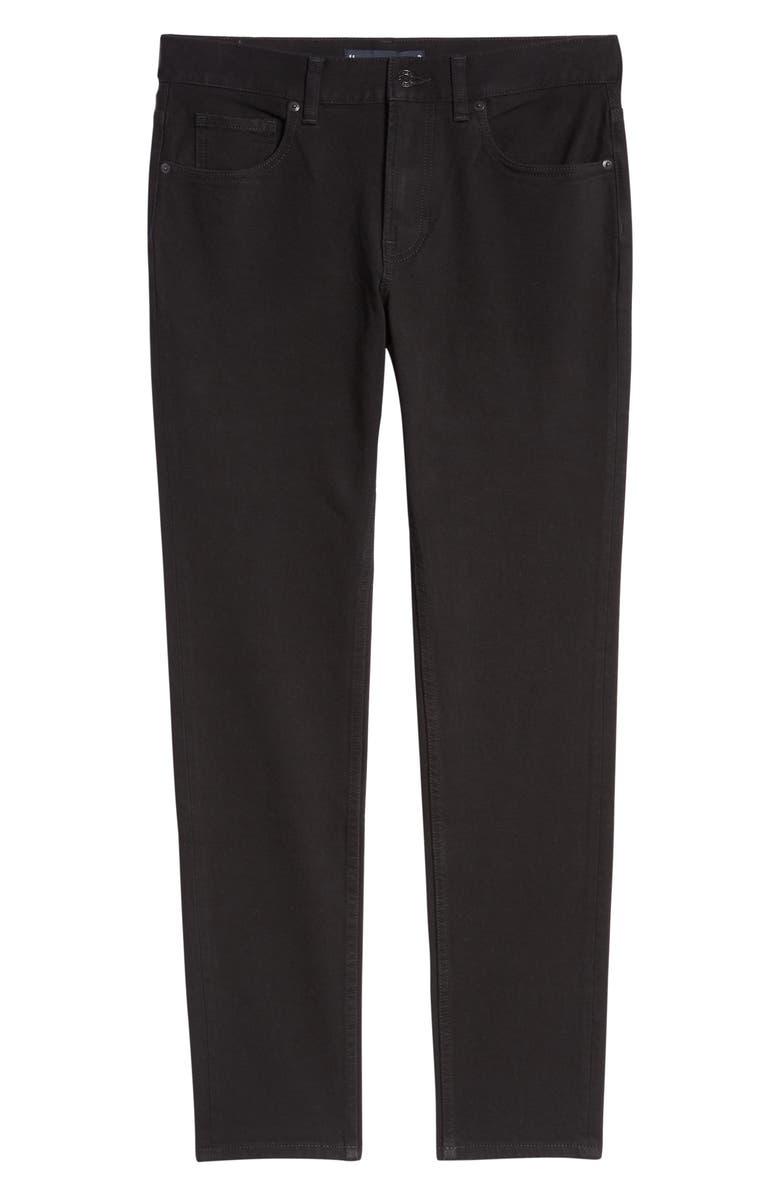 EVERLANE Uniform Skinny Fit Performance Jeans, Main, color, BLACK