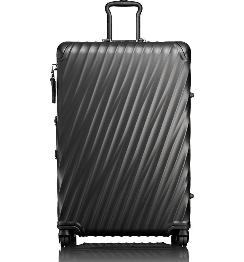 TUMI 19 Degree 30-Inch Expandable Wheeled Packing Case, Main, color, MATTE BLACK
