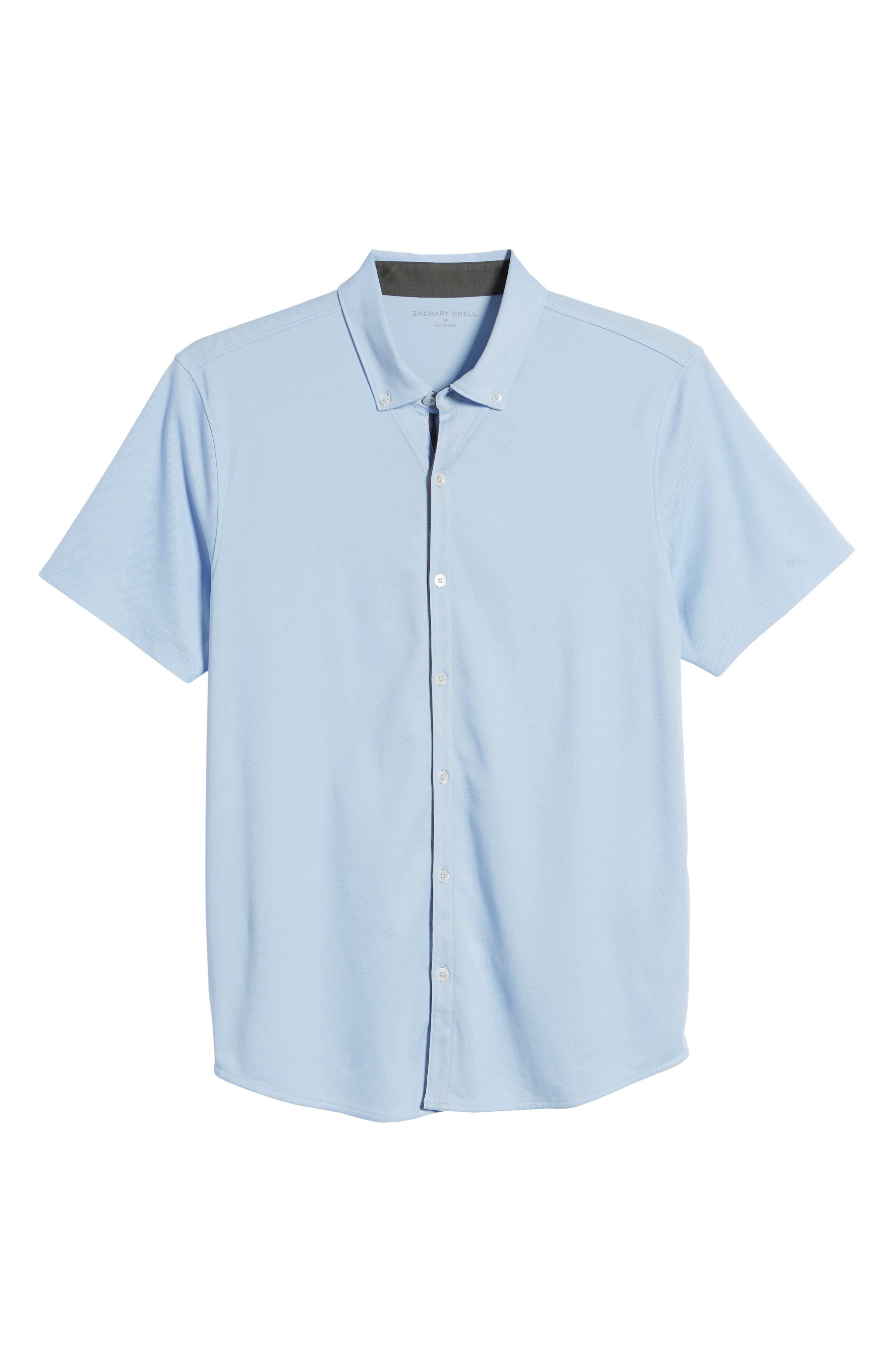 ,                             Caruth Regular Fit Short Sleeve Sport Shirt,                             Alternate thumbnail 35, color,                             450