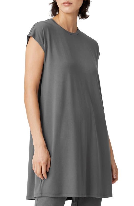 EILEEN FISHER Dresses CREWNECK BOXY DRESS