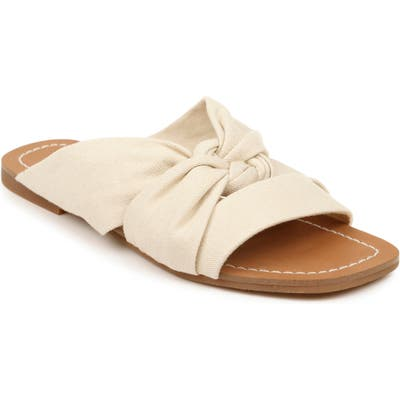 Splendid Alannis Slide Sandal- Beige